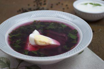 Soup - Cold Borscht - Cold Beetroot Borscht