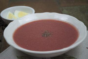 Soup - Vegetable Borscht - Cream Of Borscht
