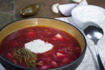 Soup - Ukrainian Borscht - Perfect Ukrainian Borscht