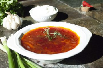 Soup - Poultry Borscht - Borscht With Chicken Breast