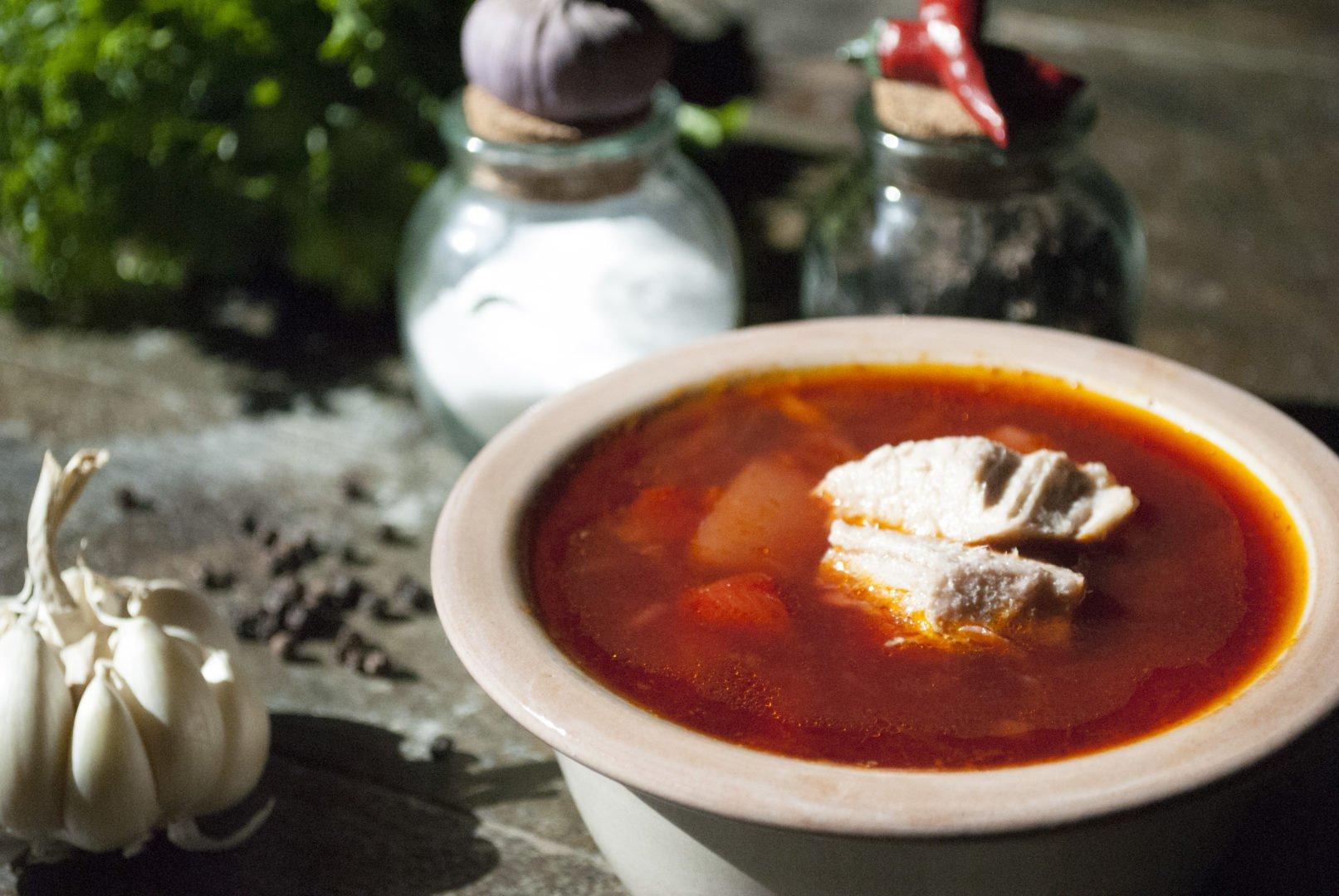 Soup - Poultry Borscht - Siberian Borscht With Chicken