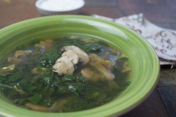 Soup - Green Borscht - Sour Borscht With Greens