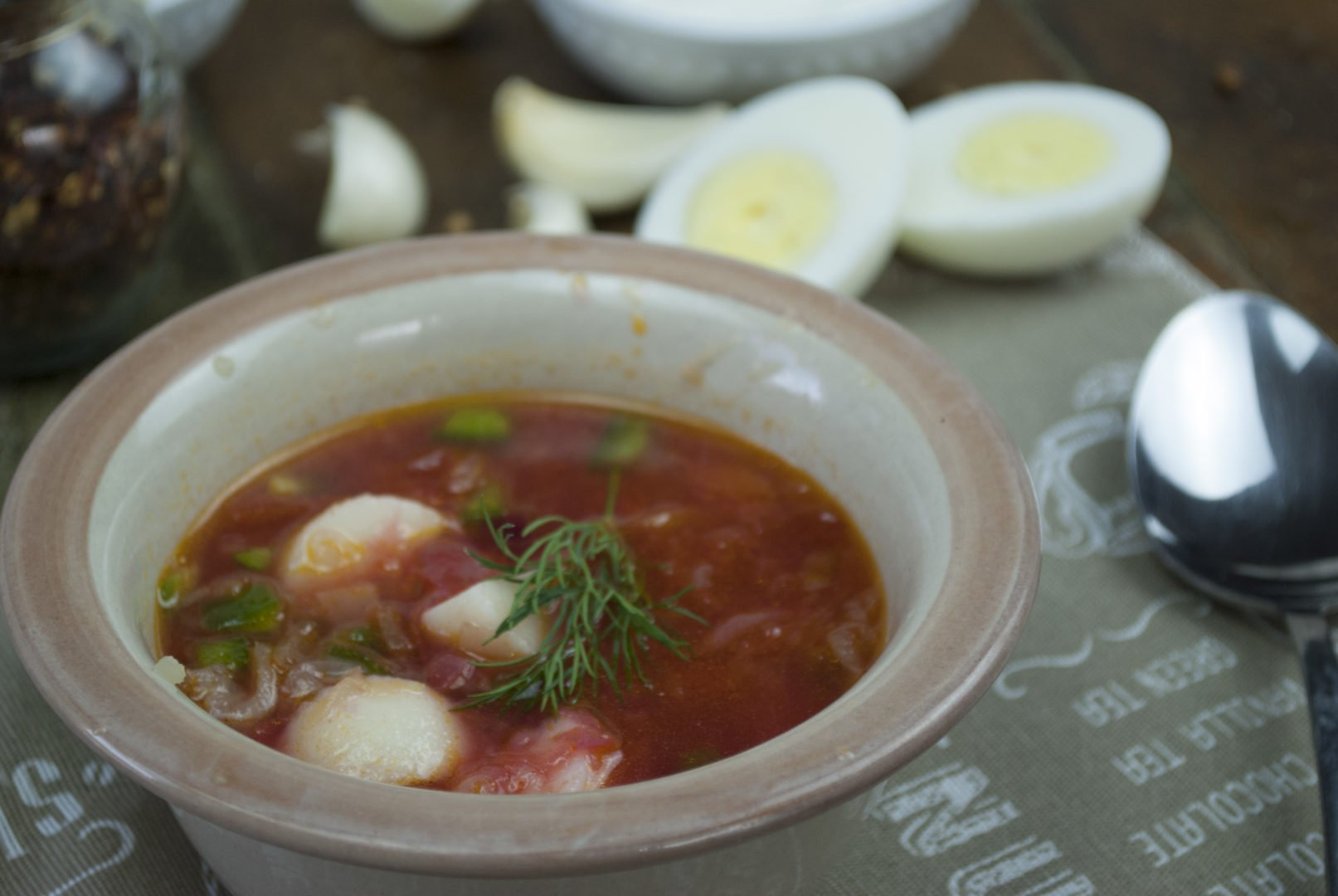 Soup - Vegetable Borscht - Bulgarian Vegetarian Borscht