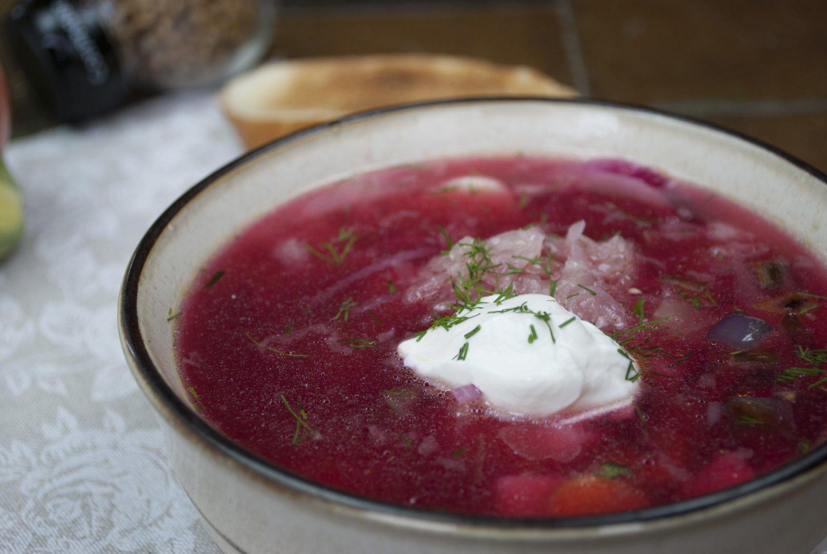 Soup - Green Borscht - Metropolitan Borscht With Greens
