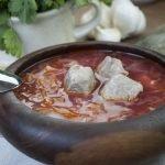 Soup - Vegetable Borscht - Spring Borscht For Camping